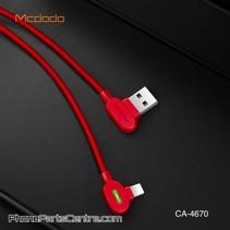 Mcdodo 90 Graden Lightning Kabel - Buttom Series CA-4671 1.2m (10 stuks)