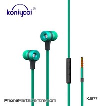 Koniycoi Wired Earphones KJ877 (10 pcs)