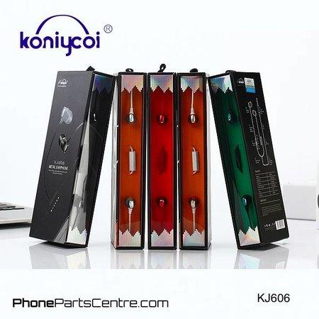 Koniycoi Koniycoi Oordopjes met snoer KJ606 (10 stuks)