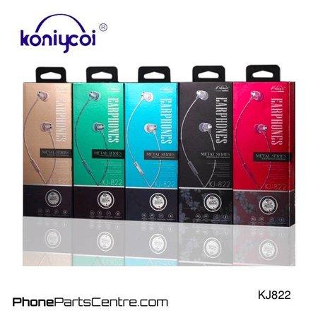 Koniycoi Koniycoi Wired Earphones KJ822 (10 pcs)