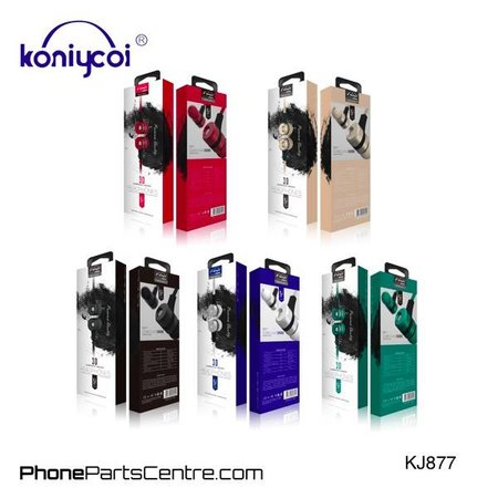 Koniycoi Koniycoi Oordopjes met snoer KJ877 (10 stuks)