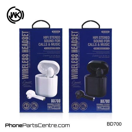 WK WK TWS Bluetooth Headset BD700 (2 stuks)