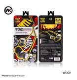 WK WK Oordopjes met snoer WI300 (5 stuks)