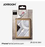 Joyroom Joyroom 3 in 1 Cable JR-S318 1.5m (10 pcs)