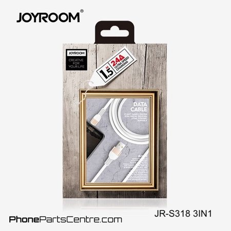 Joyroom Joyroom 3 in 1 Kabel JR-S318 1.5m (10 stuks)