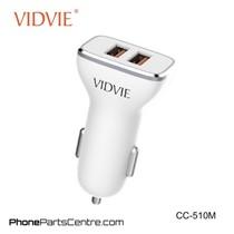 Vidvie Autolader Micro-USB Kabel 2 USB CC-510M (10 stuks)