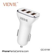 Vidvie Autolader Micro-USB Kabel 3 USB CC-511M (10 stuks)