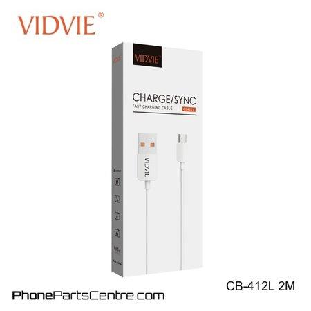 Vidvie Lightning Kabel 2 meter CB-412L (20 stuks)