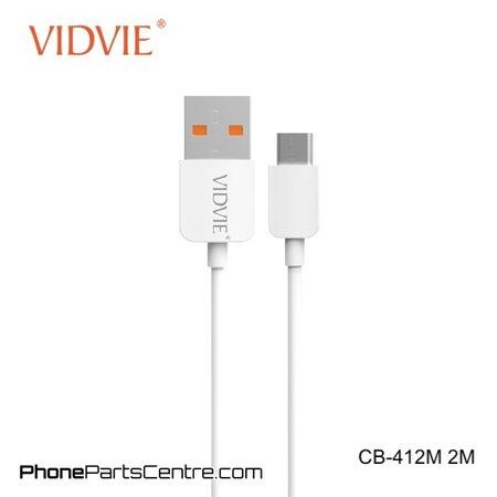 Vidvie Micro-USB Cable 2 meter CB-412M (20 pcs)