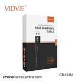 Vidvie Micro-USB 1.2 meter Kabel CB-433M (10 stuks)