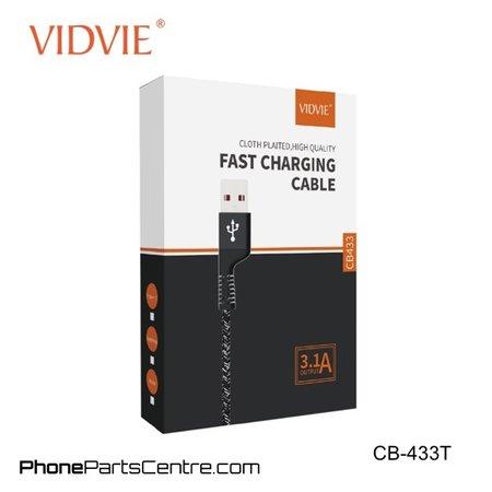 Vidvie Type C 1.2 meter Kabel CB-433T (10 stuks)