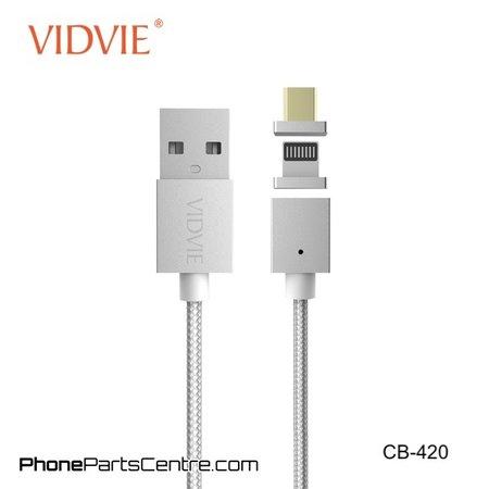 Vidvie Magneet Kabel Type C + Lightning CB-420 (5 stuks)