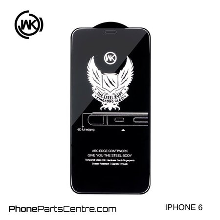 WK WK King Kong 4D Scherm iPhone 6 (5 stuks)