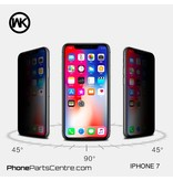 WK WK King Kong 5D Privacy glass iPhone 7 (5 pcs)
