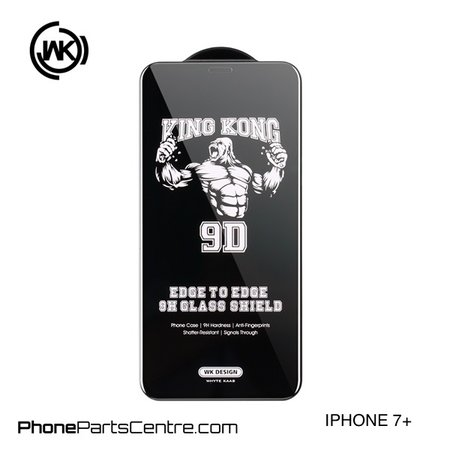 WK WK King Kong 9D Scherm iPhone 7 Plus (10 stuks)