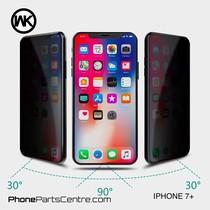 WK King Kong 4D Privacy glass iPhone 7 Plus (5 pcs)