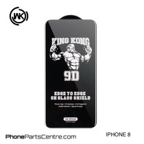 WK King Kong 9D Scherm iPhone 8 (10 stuks)