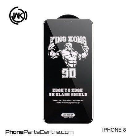 WK WK King Kong 9D Scherm iPhone 8 (10 stuks)