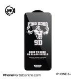 WK WK King Kong 9D Scherm iPhone 8 Plus (10 stuks)