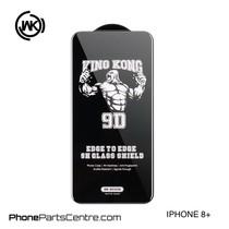 WK King Kong 9D Scherm iPhone 8 Plus (10 stuks)
