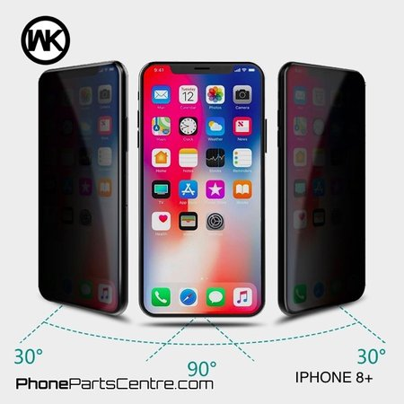 WK WK King Kong 4D Privacy Scherm iPhone 8 Plus (5 stuks)