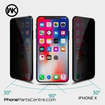 WK King Kong 4D Privacy glass iPhone X (5 pcs)