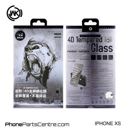WK WK King Kong 4D Scherm iPhone XS (5 stuks)