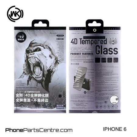 WK WK King Kong 4D glass iPhone 6 (5 pcs)