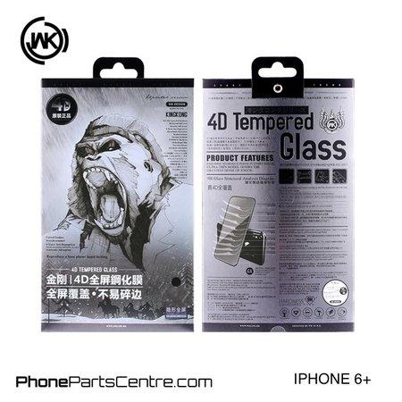 WK WK King Kong 4D glass iPhone 6 Plus (5 pcs)