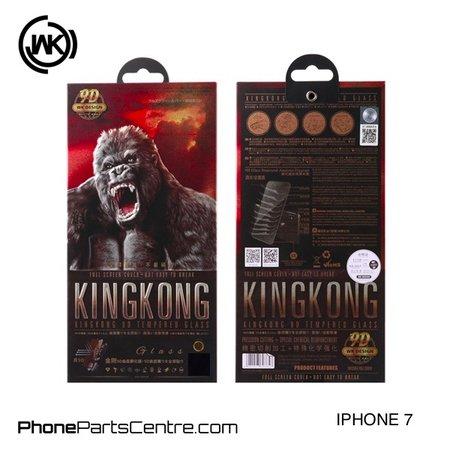 WK WK King Kong 9D Scherm iPhone 7 (10 stuks)