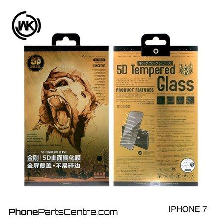 WK WK King Kong 5D glass iPhone 7 (5 pcs)
