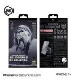WK WK King Kong 5D Privacy glass iPhone 7 Plus (5 pcs)