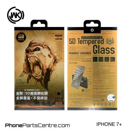 WK WK King Kong 5D Scherm iPhone 7 Plus (5 stuks)