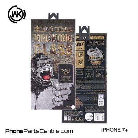 WK WK King Kong 3D Scherm iPhone 7 Plus (5 stuks)