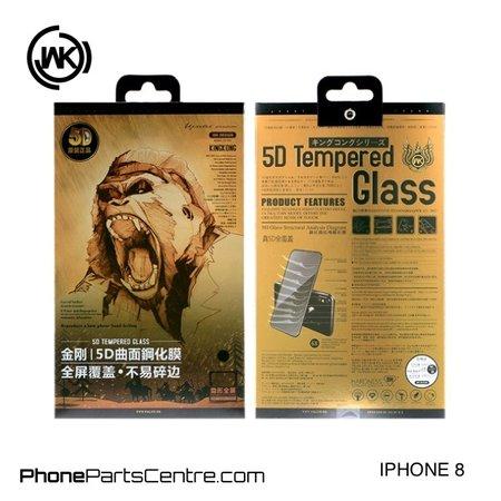 WK WK King Kong 5D Scherm iPhone 8 (5 stuks)