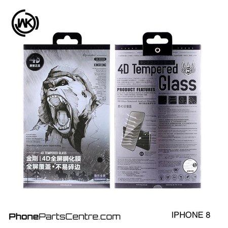 WK WK King Kong 4D Scherm iPhone 8 (5 stuks)