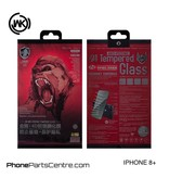 WK WK King Kong 4D Privacy glass iPhone 8 Plus (5 pcs)