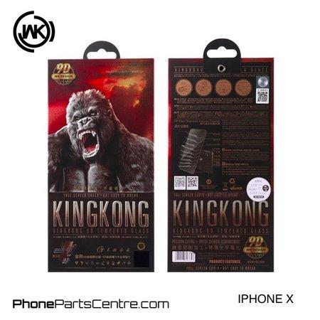 WK WK King Kong 9D Scherm iPhone X (10 stuks)