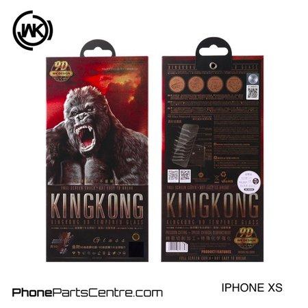 WK WK King Kong 9D glass iPhone XS (10 pcs)