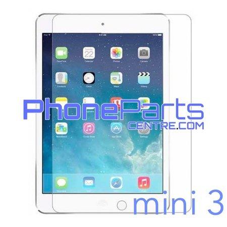 Tempered glass premium kwaliteit - geen verpakking voor iPad mini 3 (25 stuks)