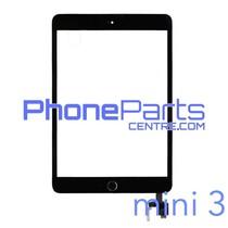 Digitizer / glass lens / home button for iPad mini 3 (2 pcs)