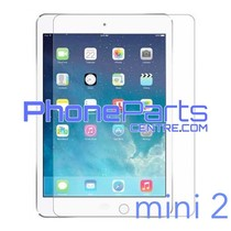 Tempered glass premium kwaliteit - geen verpakking voor iPad mini 2 (25 stuks)