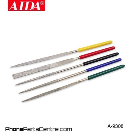 Aida Aida A-9308 File Set Repair Tool (5 stuks)