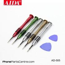 Aida AD-505 Screwdriver Repair Set (2 stuks)
