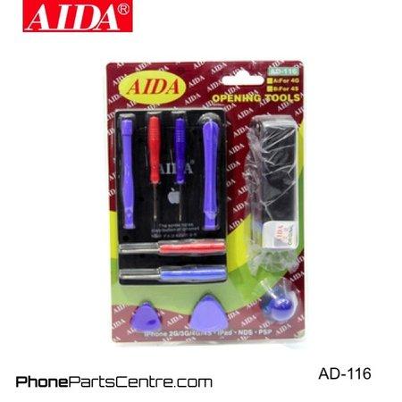 Aida Aida AD-116 Nano Card Cutter & Screwdriver Repair Set (2 stuks)