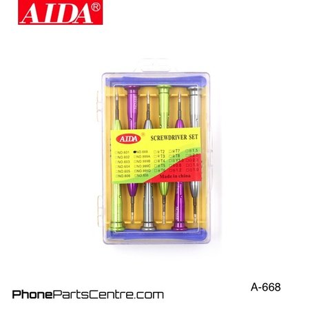 Aida Aida A-668 Screwdriver Repair Set (2 stuks)
