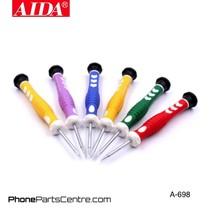 Aida A-698 Screwdriver Repair Set (2 stuks)