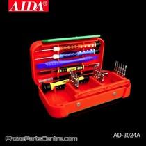 Aida AD-3024A Screwdriver Repair Set (2 stuks)