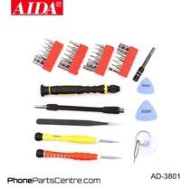 Aida AD-3801 Screwdriver Repair Set (2 stuks)