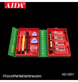 Aida Aida AD-3801 Screwdriver Repair Set (2 stuks)